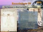 renacimiento iii