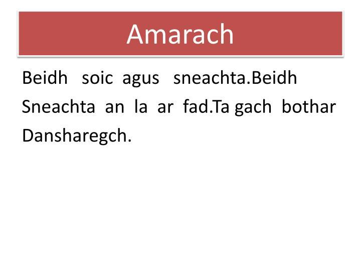 Amarach