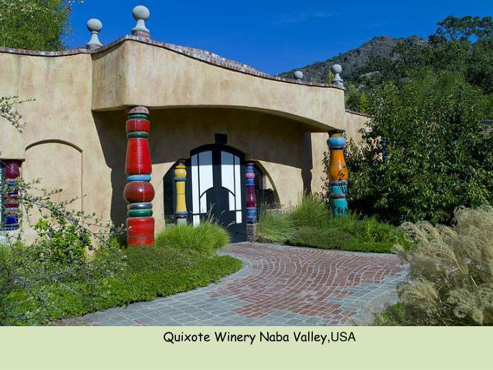Quixote Winery Naba Valley