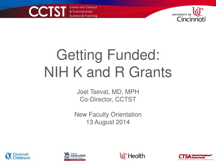getting funded nih k and r grants n.