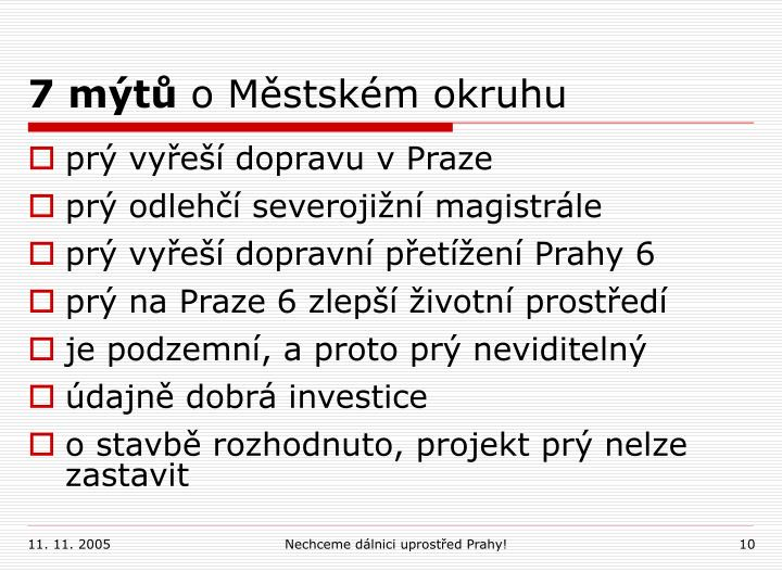 7 mýtů