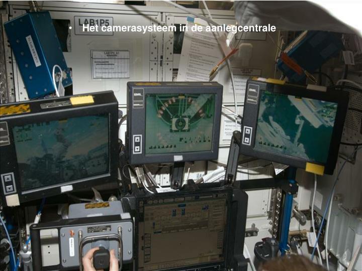 Het camerasysteem in de aanlegcentrale