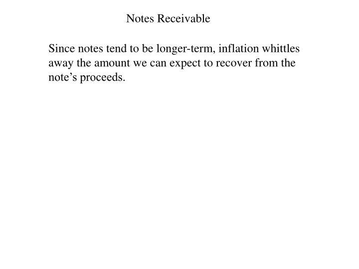 Notes Receivable