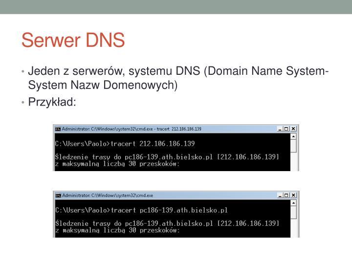 Serwer DNS