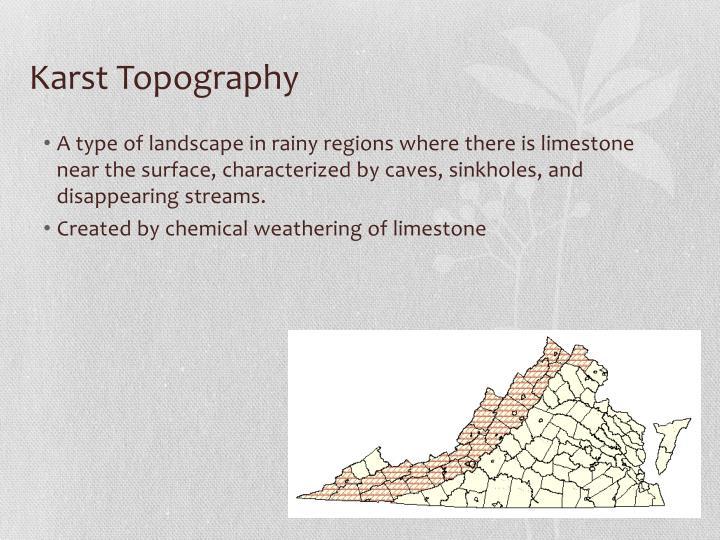 Karst Topography
