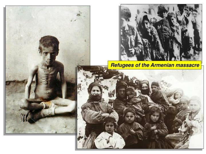 Refugees of the Armenian massacre