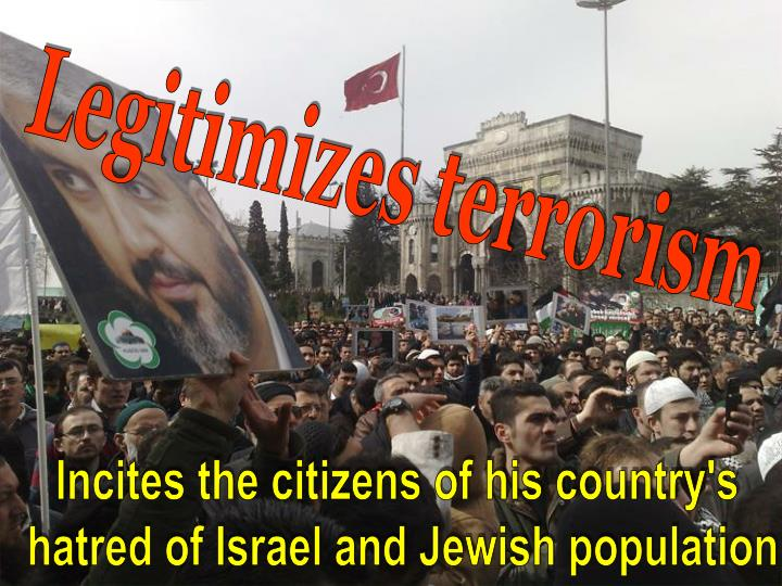 Legitimizes terrorism