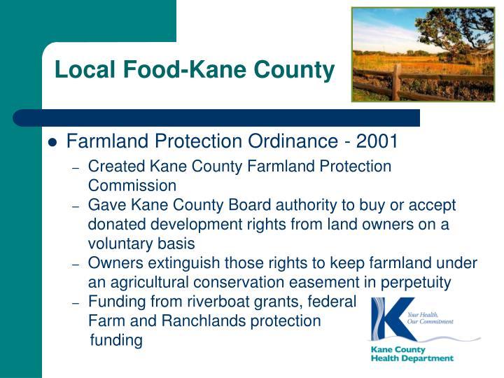Local Food-Kane County