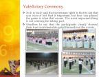 valedictory ceremony