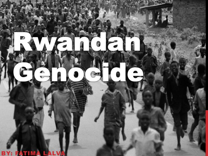 """rwandan genocide speech from the perspective Apr 07 view calendar this day in history: the rwandan genocide url eisenhower gives famous """"domino theory"""" speech."""