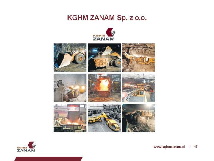 KGHM ZANAM Sp. z o.o.