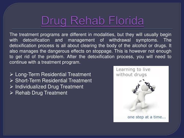 Drug rehab florida