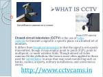 what is cctv