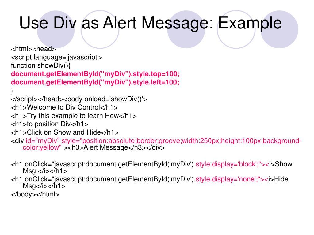 Javascript Display None