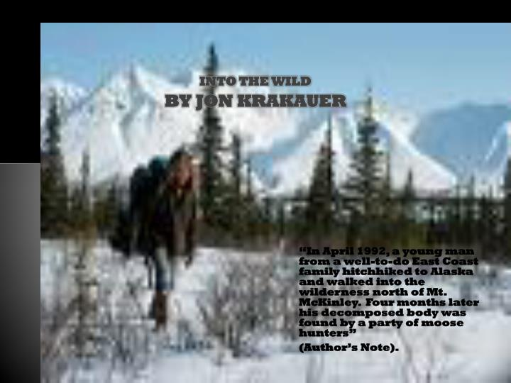 PPT - Into the Wild PowerPoint Presentation - ID:1136402 |Into The Wild Powerpoint