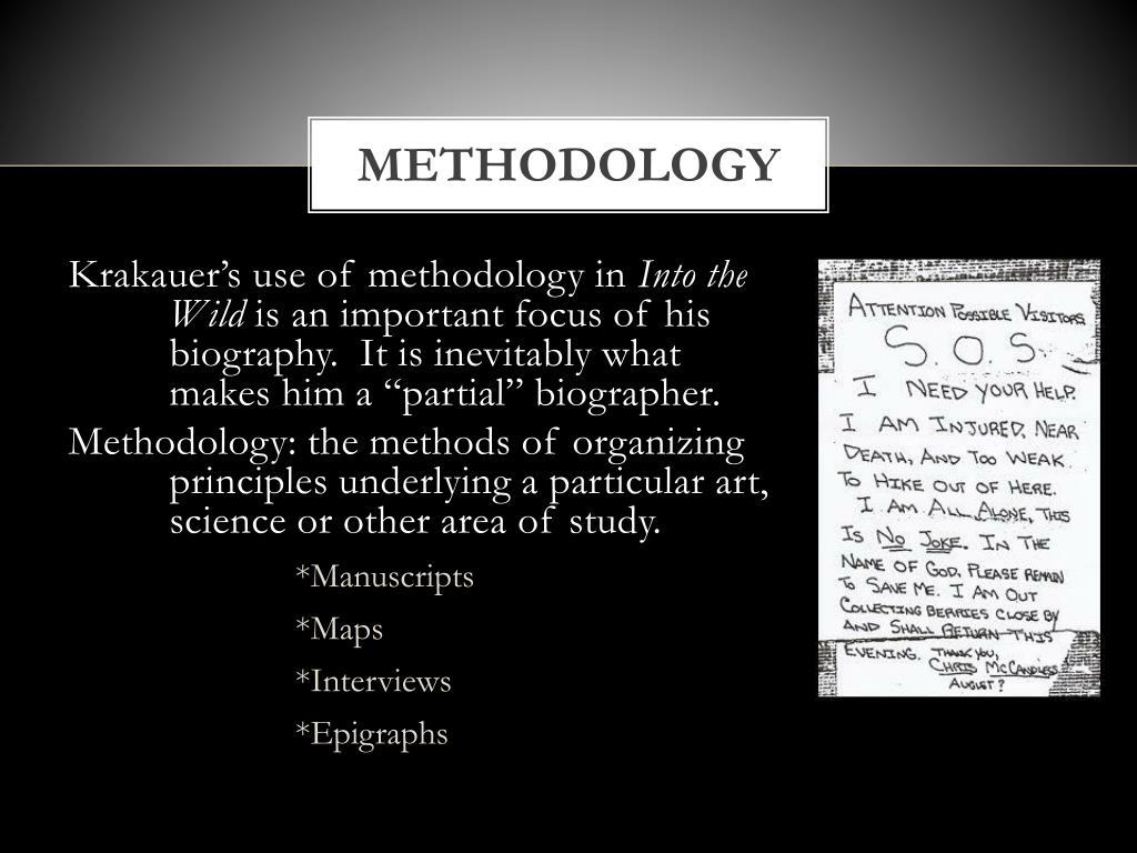 PPT - Into the Wild Jon Krakauer , American postmodernism ... |Into The Wild Powerpoint