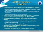 awips evolution objectives