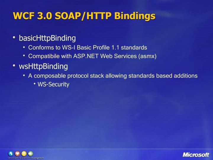 WCF 3.0 SOAP/HTTP Bindings