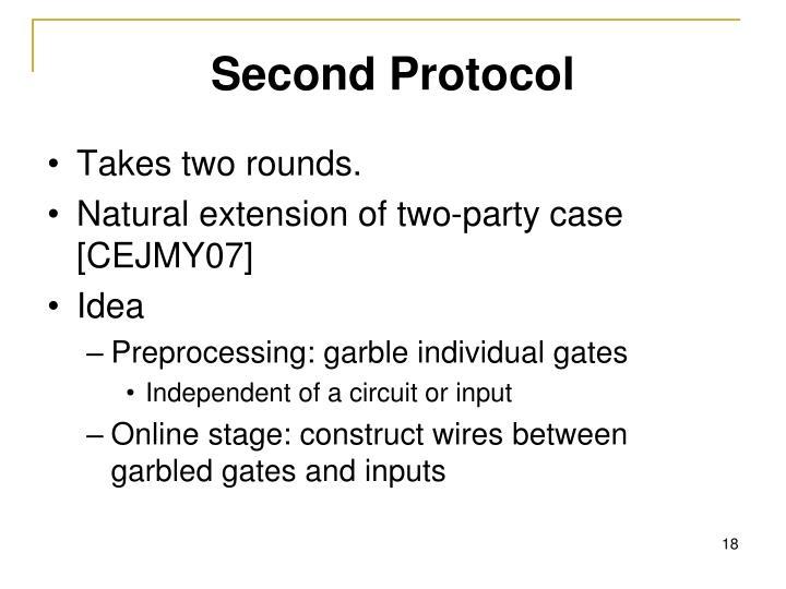Second Protocol