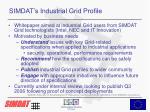 simdat s industrial grid profile