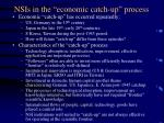 nsis in the economic catch up process