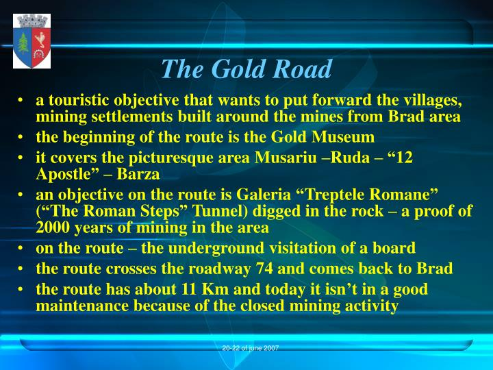 The Gold Road