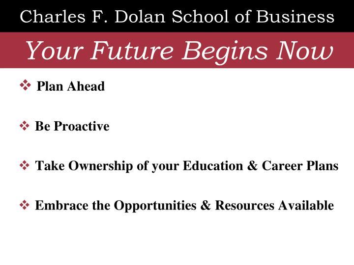 Charles f dolan school of business1