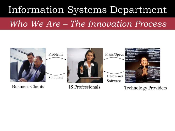 Information Systems Department