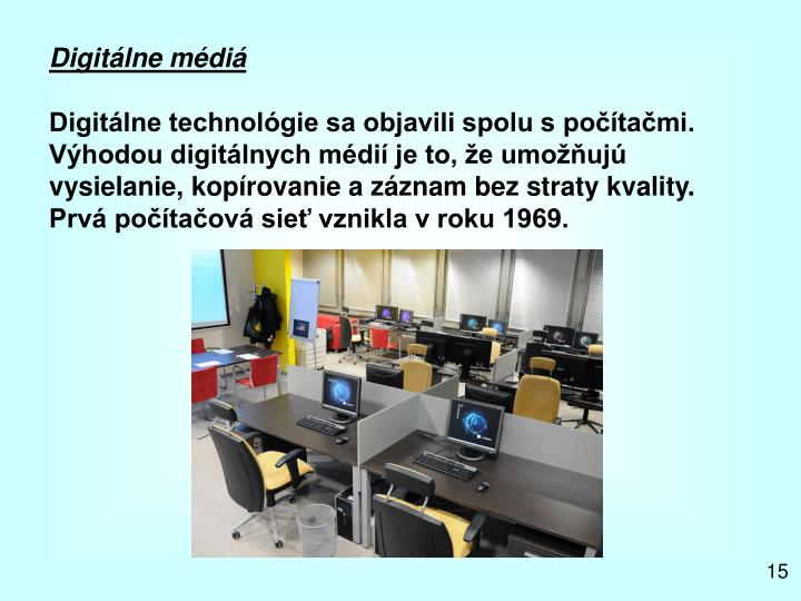 Digitálne médiá