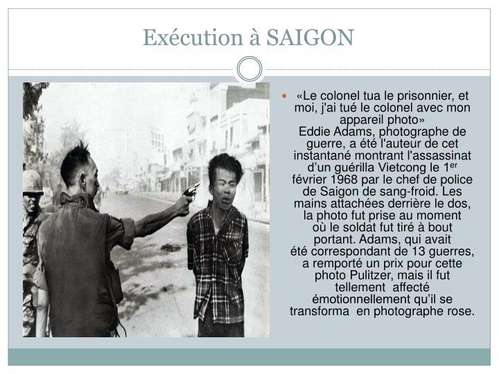 Exécution à SAIGON