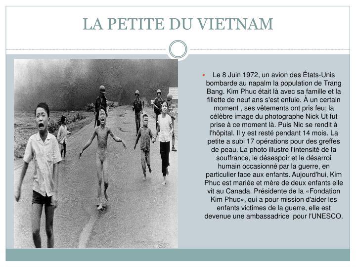 LA PETITE DU VIETNAM