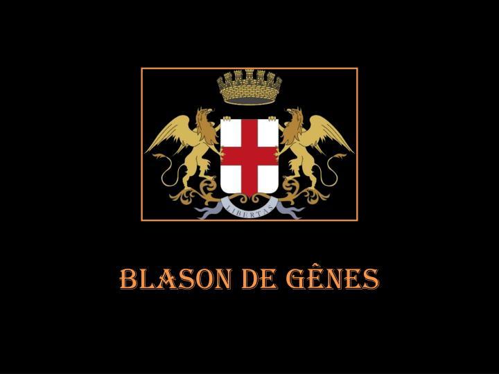 Blason de Gênes