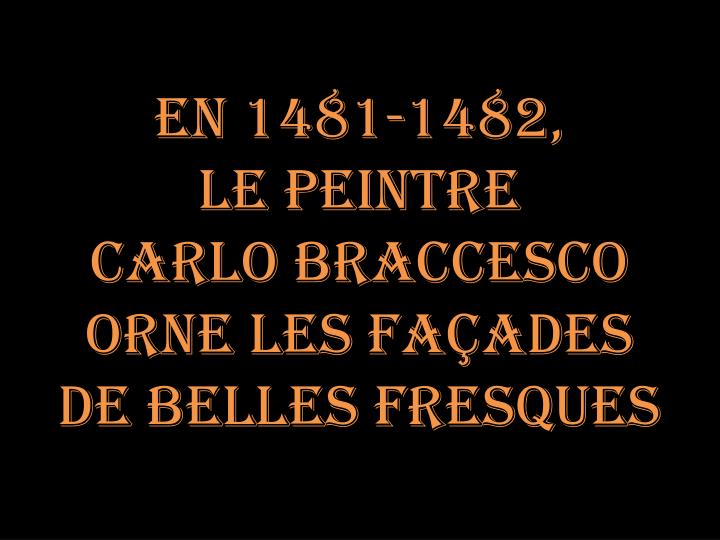 En 1481-1482,