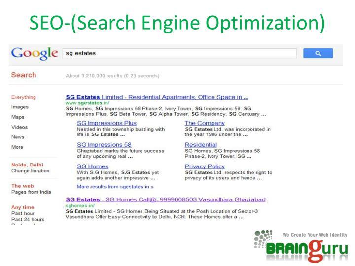 SEO-(Search Engine Optimization)