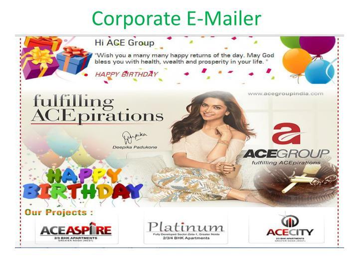 Corporate E-Mailer