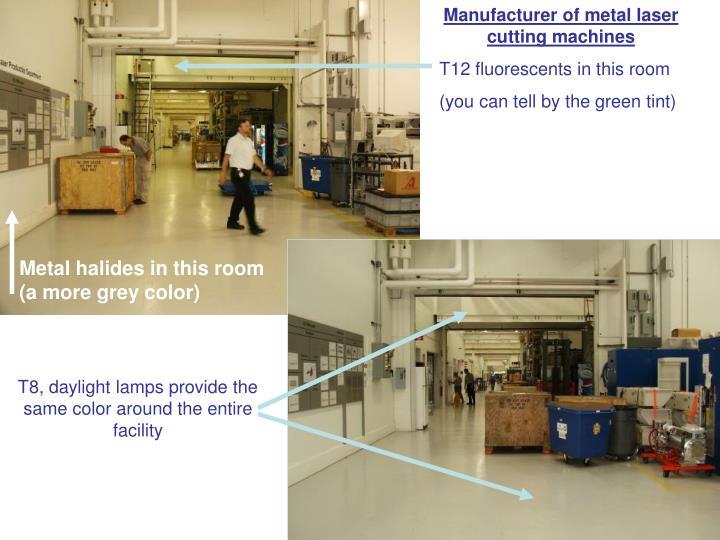 Manufacturer of metal laser cutting machines