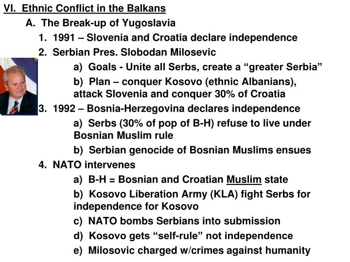 kosovo conflicts between serbians and ethnic albanians Chapter 32 history study play kosovo province of serbia where ethnic differences led to armed conflict and a declaration of independence tutsis minority group in rwanda desmond tutu anglican bishop who won noble peace prize  in 1999 what stopped the fighting in kosovo between yugoslavia and albanians.