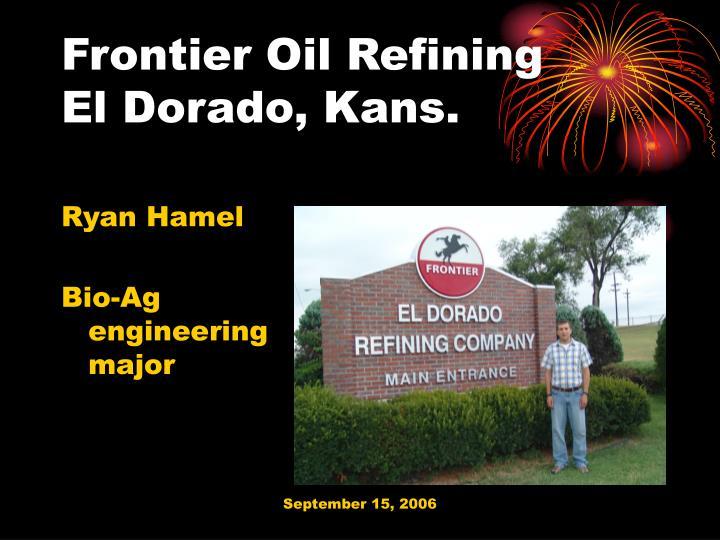Frontier Oil Refining