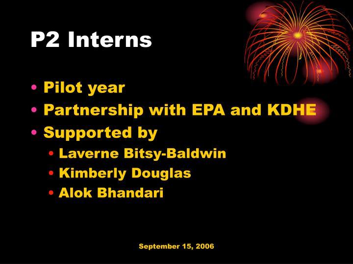 P2 interns
