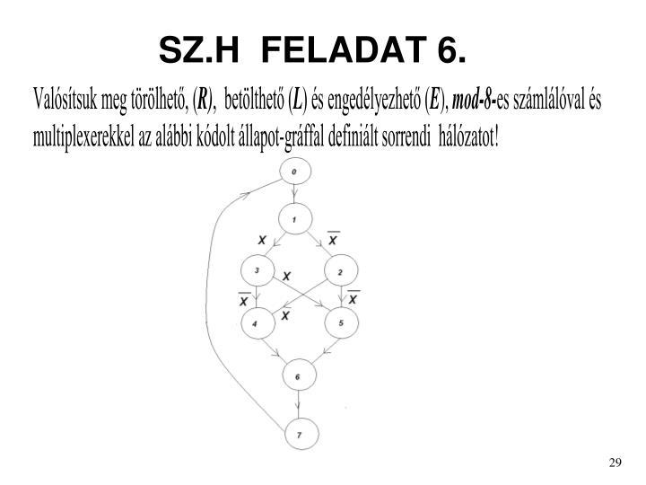 SZ.H  FELADAT 6.