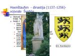 hoen taufen dinastija 1137 1256 vojvode vabije
