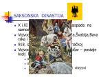 saksonska dinastija