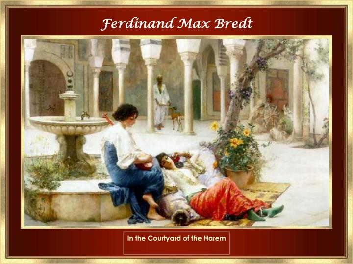 In the Courtyard of the Harem