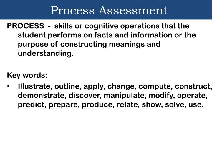 Process Assessment