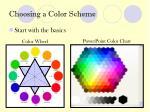 choosing a color scheme3