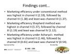 findings cont12