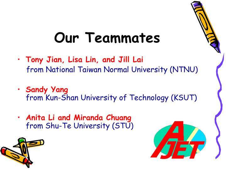 Our teammates