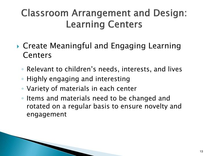 Classroom Design For Literacy ~ Ppt addressing and managing the challenging behavior of