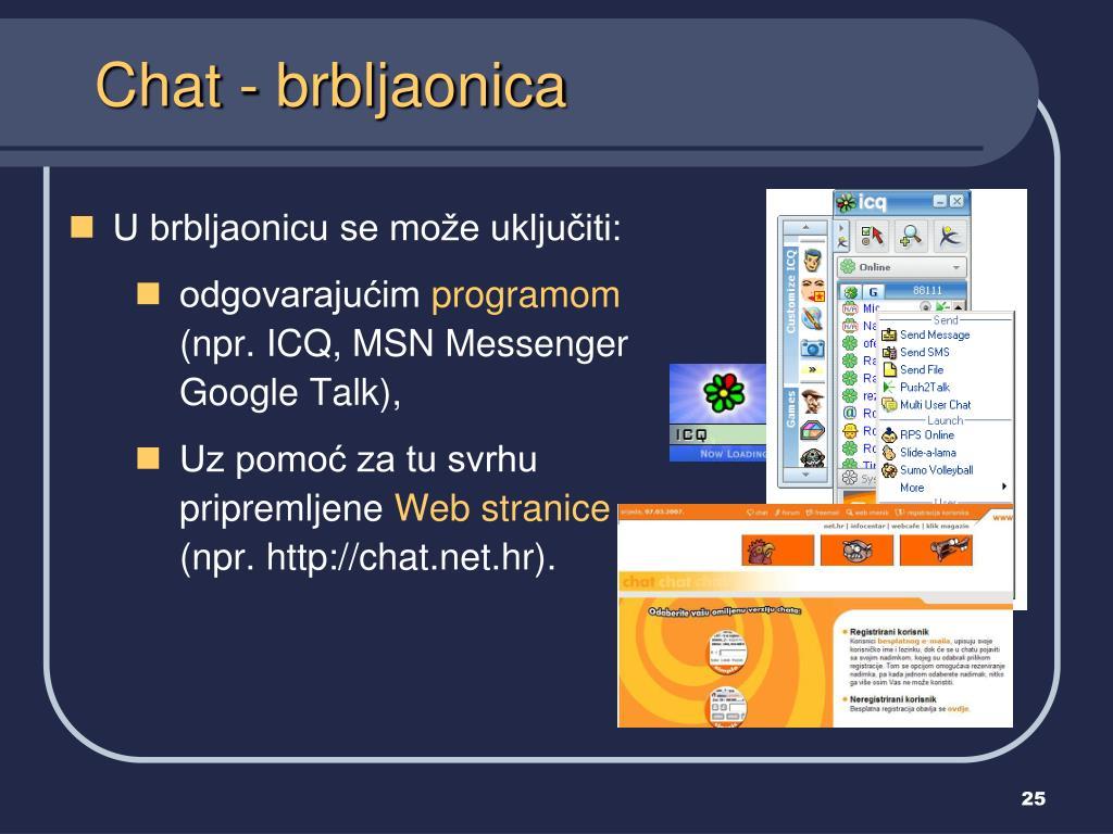 PPT - Usluge interneta PowerPoint Presentation, free