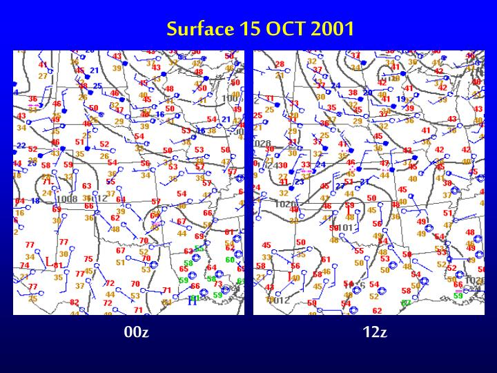 Surface 15 OCT 2001